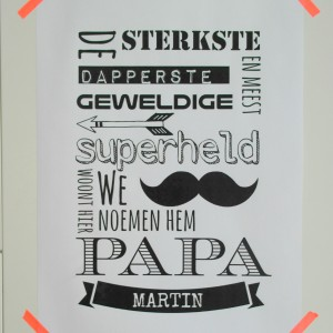 superheld-print-papa