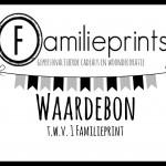 Waardebon Familieprint